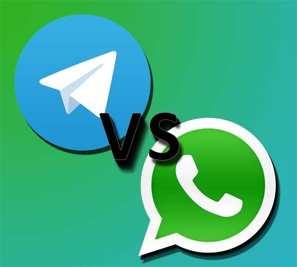 WhatsApp Web y Telegram Web, cara a cara