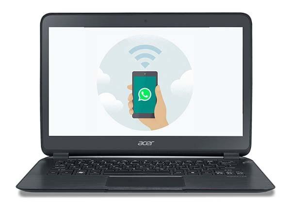 Cómo enviar una foto por WhatsApp Web