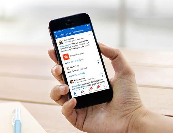 Yammer, una app de mensajería y comunicación para empresas