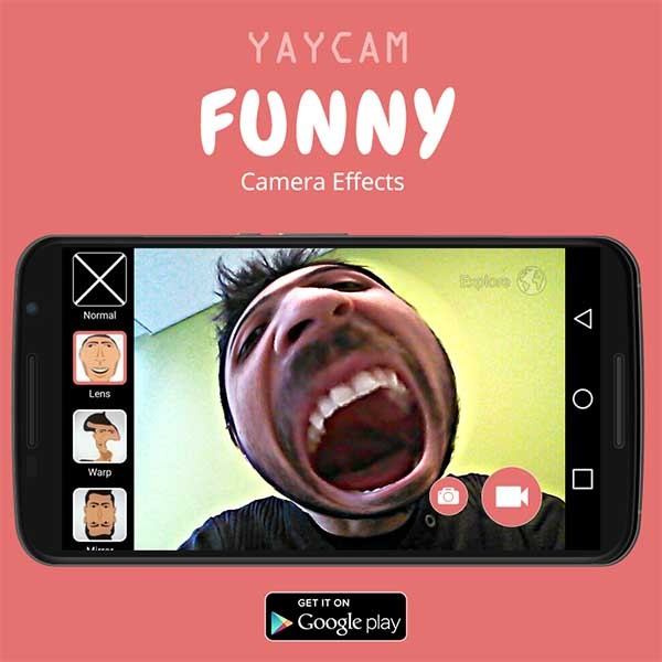 YayCam, graba vídeos graciosos deformando tu cara y tu voz con esta app
