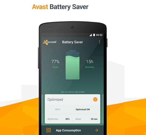 Avast Battery Saver, ahorra batería en tu Android de forma inteligente