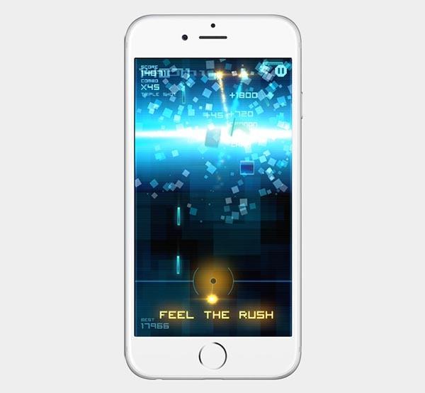 Blokshot Revolution, un adictivo juego de habilidad y disparos para iPhone