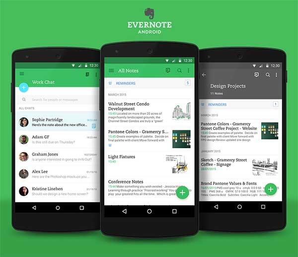 Evernote actualiza su aspecto y mejora sus funciones