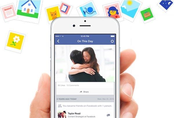 Facebook lanza una nueva función para recordar años anteriores