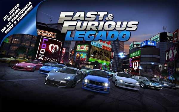 Fast & Furious: Legado, un juego de carreras basado en las películas