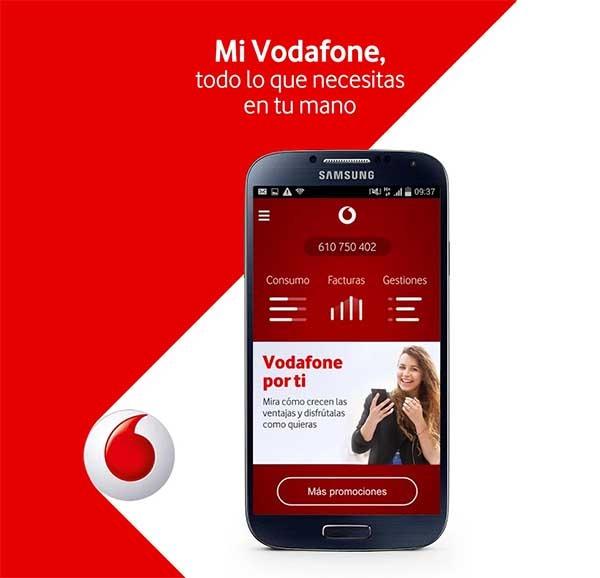 Mi Vodafone, gestiona tus líneas, facturas y consumo desde el móvil