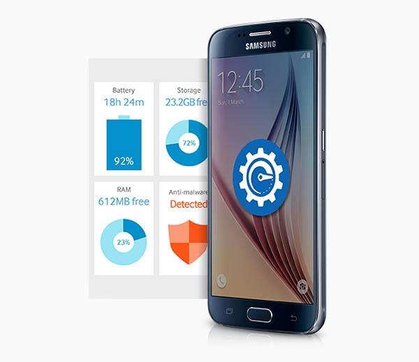 Smart Manager, la app de mantenimiento del Samsung Galaxy S6