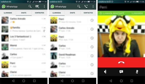 whatsapp llamadas android oficial