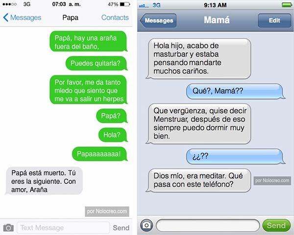 whatsapp padres humor