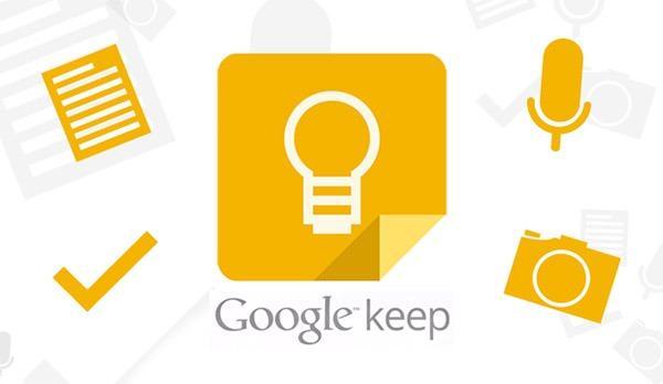 Google Keep ahora da soporte para los relojes con Android Wear