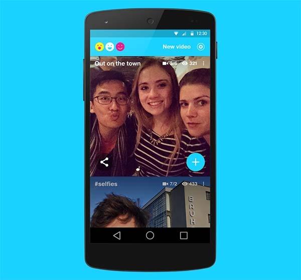 Riff, una app de Facebook para crear vídeos entre amigos