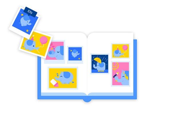 Scrapbook, reúne y ordena todas las fotos de tus hijos en Facebook