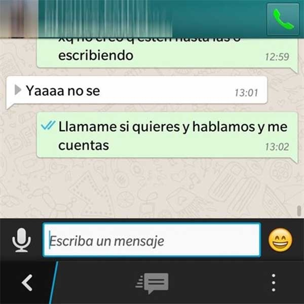 whatsapp llamadas blackberry