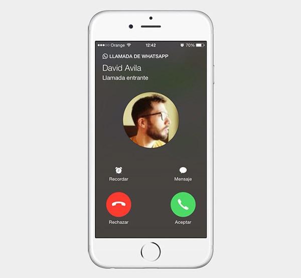 WhatsApp comienza a activar las llamadas en iPhone por invitación
