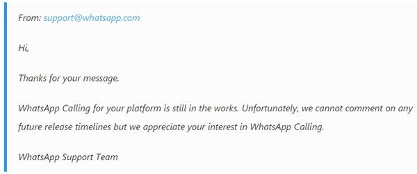 whatsapp llamadas wp