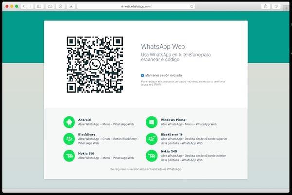 whatsapp web safari oficial