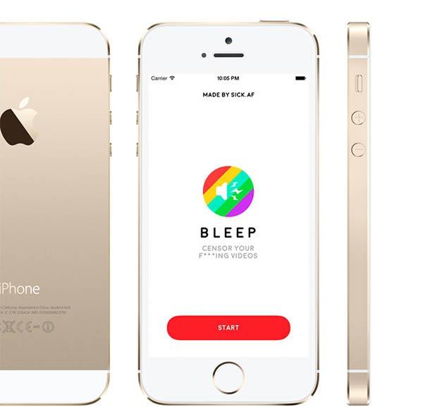Bleep, censura los vídeos de tus redes sociales con esta divertida app