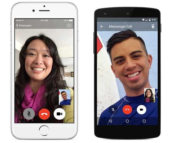 facebook messenger videollamadas España