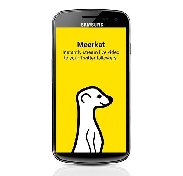 Meerkat, la app para retransmitir en directo llega a Android