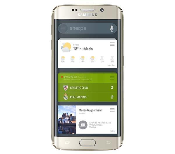 Sherpa Next, el asistente español llegará en los Samsung Galaxy S6 y S6 Edge