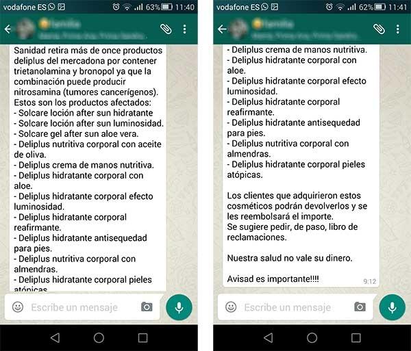 whatsapp bulo mercadona