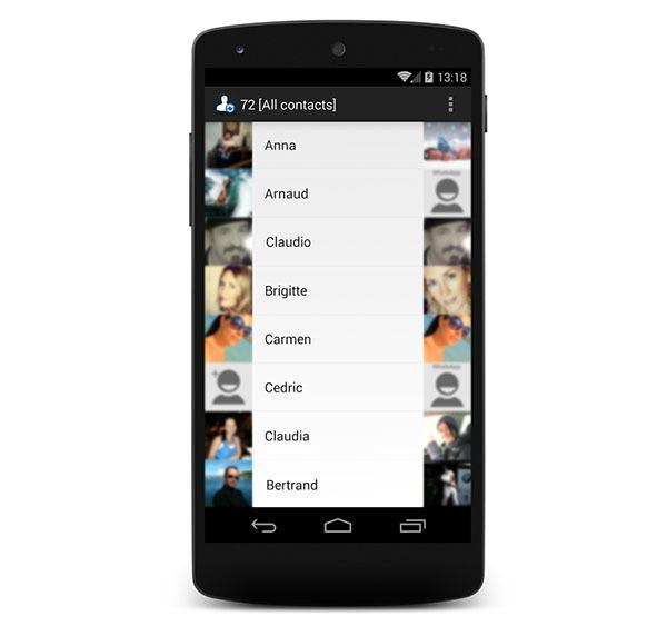 Cómo utilizar las fotos de perfil de WhatsApp en tu propia agenda