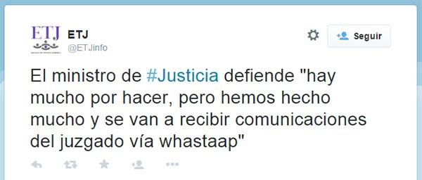 whatsapp notificaciones judiciales