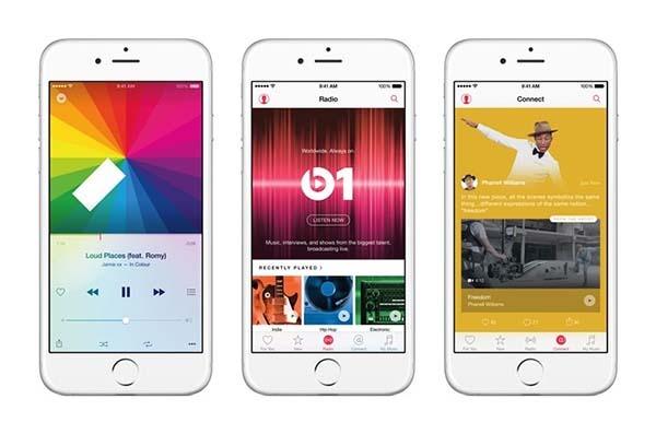 Apple Music, el competidor de Spotify, llegará a Android en octubre