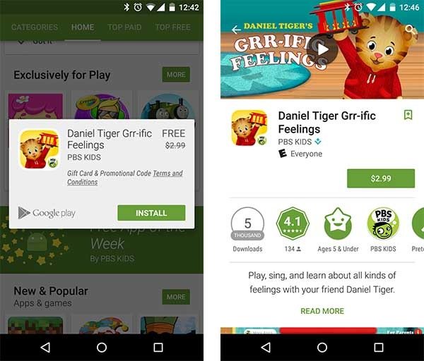google play app gratis de la semana