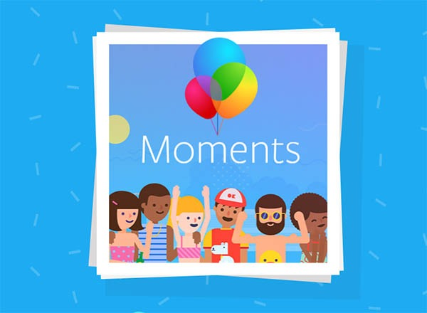 Moments, la app de Facebook para compartir álbumes de fotos