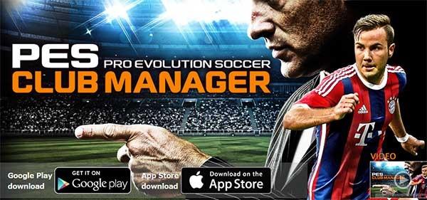 PES Club Manager, sé el entrenador y director de tu propio equipo de fútbol