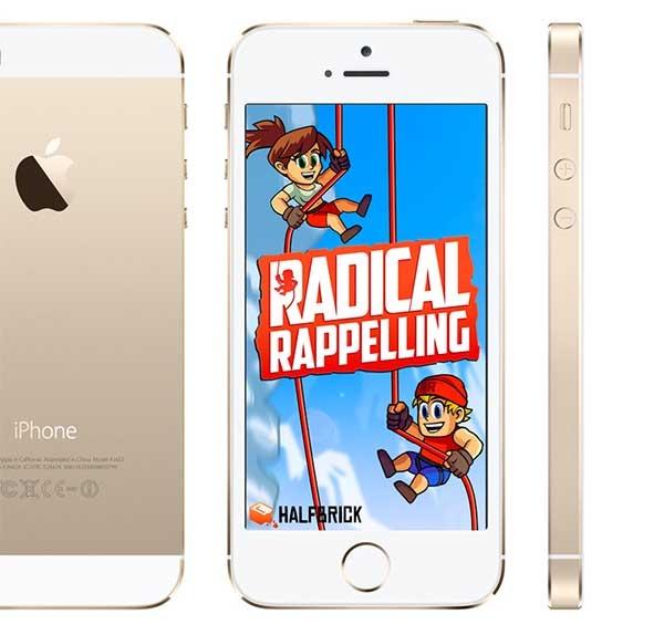 Radical Rappelling, practica descenso en este divertido juego sin fin