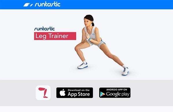 Runtastic Leg Trainer, pon en forma tus piernas con esta app