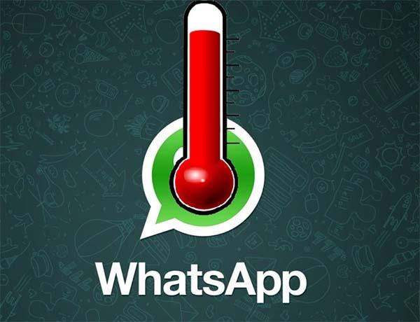 WhatsApp echa humo con estas imágenes del calor