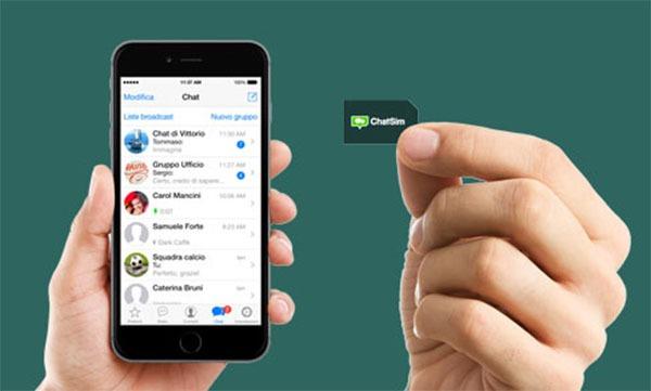 Una tarjeta SIM para mandar mensajes de WhatsApp desde el extranjero