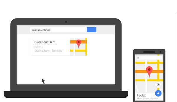 Cómo enviar una dirección de Google Maps desde el PC al móvil