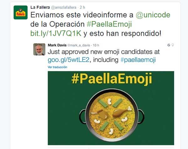El emoticono Emoji de la paella, un paso más cerca de WhatsApp 2
