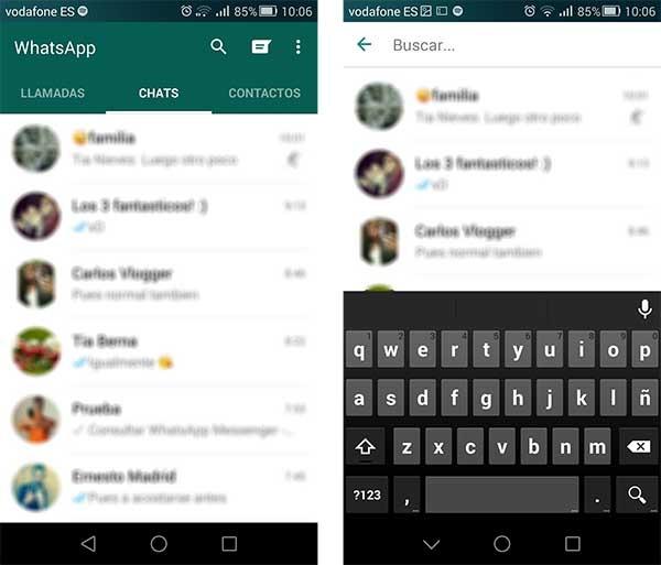 whatsapp búsquedas avanzadas