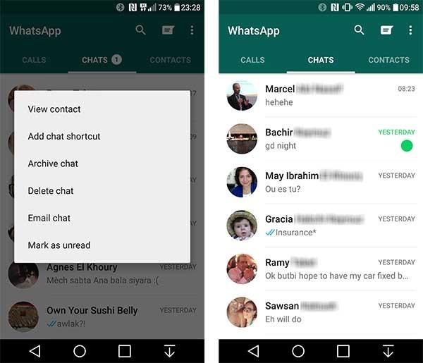 whatsapp novedades beta