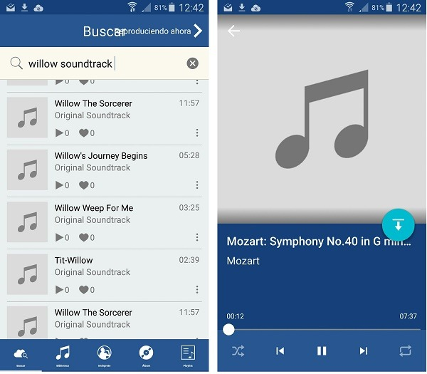 programa android para descargar musica mp3