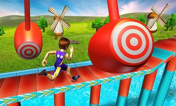 Adelante con más fuerza 3D, un juego de obstáculos para el verano