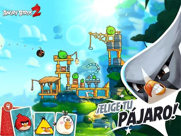 Las 5 diferencias entre Angry Birds 2 y el primer Angry Birds