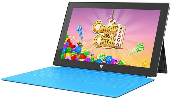 Candy Crush Saga también se actualiza a Windows 10