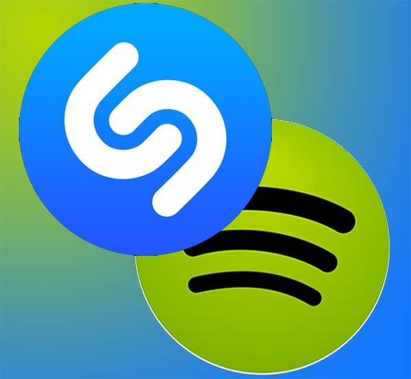 Cómo crear listas de reproducción de Spotify con canciones de Shazam