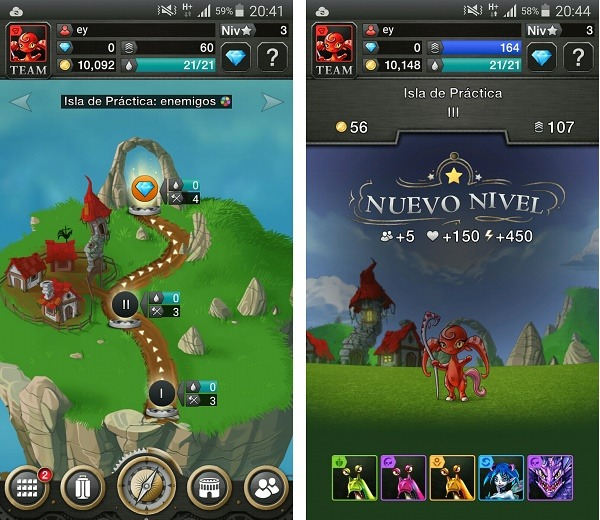 Skydoms, batallas RPG al estilo Candy Crush Saga