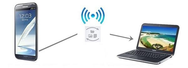 Transferir archivos del móvil al ordenador sin cable