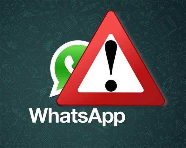 whatsapp fallo iphone