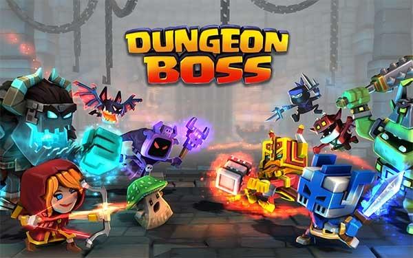Dungeon Boss, un juego de mazmorras y luchas tácticas que engancha