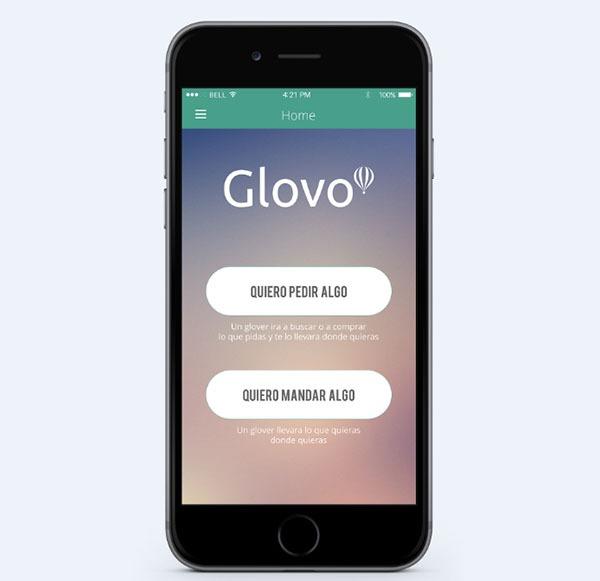 Glovo, pide recados y compras de cualquier tipo desde esta aplicación