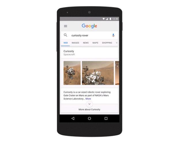 Así son las nuevas notificaciones que están apareciendo en la app de Google